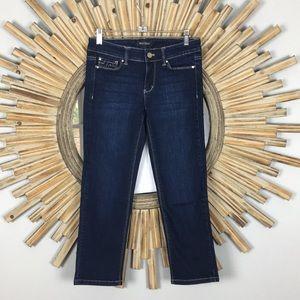 White House Black Market Cropped Jeans Sz. 0 EUC